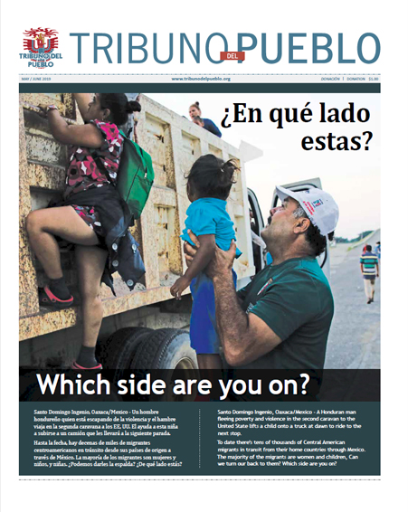 Tribuno Del Pueblo May June 2019 - front cover