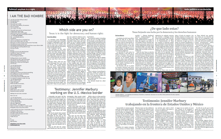 Tribuno Del Pueblo May June 2019 - pages 6 and 7