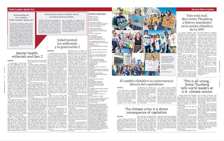 Tribuno Del Pueblo October November 2019 - pages 6 and 7