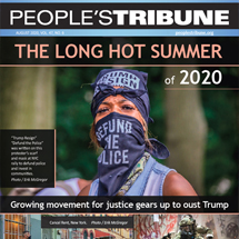 People's Tribune August 2020 Digital Magazine Cover