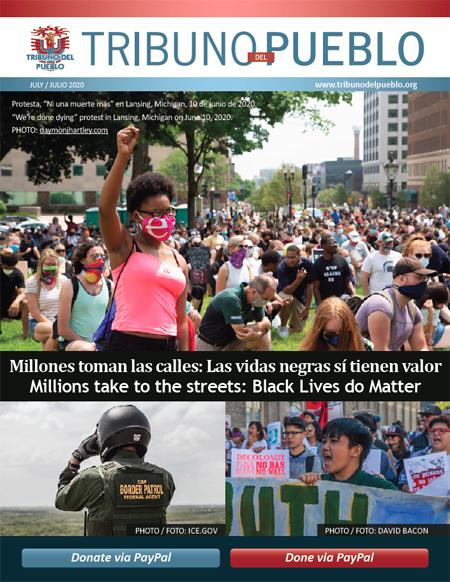 Tribuno Del Pueblo May June 2020 Digital Magazine cover