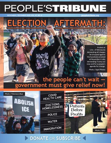 People's Tribune November December 2020 Digital Magazine Cover