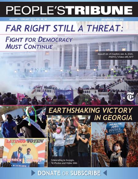 People's Tribune – January February 2021 Digital Magazine Cover