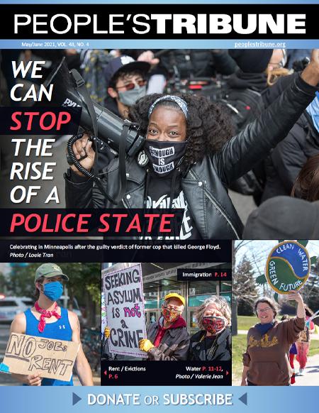 People's Tribune – May/June 2021 Digital Magazine cover