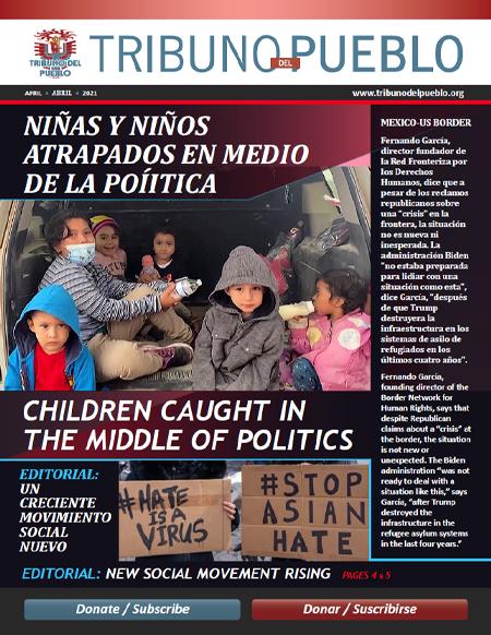 Tribuno Del Pueblo – April 2021 Digital Magazine cover